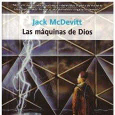 Libros de segunda mano: CIENCIA FICCION. JACK MCDEVITT. LAS MAQUINAS DE DIOS. RUSTICA. COLECCION PUZZLE. Lote 261118880