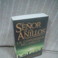 Libros de segunda mano - J.R.R. TOLKIEN: EL SEÑOR DE LOS ANILLOS I - LA COMUNIDAD DEL ANILLO - 112641279