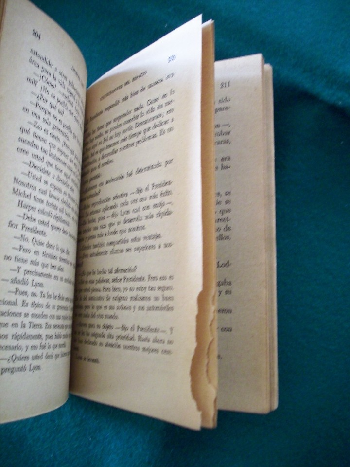 Libros de segunda mano: COLONIZADORES DEL ESPACIO - CHARLES CARR - NEBULAE - Nº50 -AÑO 1958 - E.D.H.A.S.A. - Foto 6 - 118954604