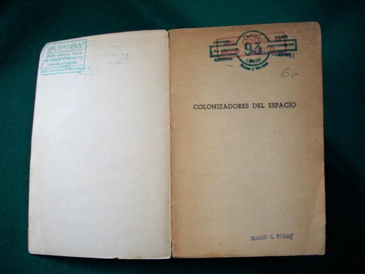 Libros de segunda mano: COLONIZADORES DEL ESPACIO - CHARLES CARR - NEBULAE - Nº50 -AÑO 1958 - E.D.H.A.S.A. - Foto 7 - 118954604