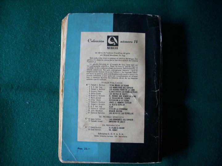 Libros de segunda mano: LOS REYES DE LAS ESTRELLAS - EDMOND HAMILTON - E.D.H.A.S.A. - NEBULAE - AÑO 1955 Nº 14 - Foto 4 - 119582310