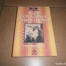 Libros de segunda mano: TRES CORAZONES Y TRES LEONES - POUL ANDERSON - EDAF ÍCARO Nº 13. Lote 112736731