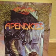 Libros de segunda mano: DRAGONLANCE APÉNDICE MARGARET WEIS TRACY HICKMAN. Lote 112746907