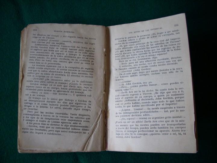 Libros de segunda mano: LOS REYES DE LAS ESTRELLAS - EDMOND HAMILTON - E.D.H.A.S.A. - NEBULAE - AÑO 1955 Nº 14 - Foto 6 - 119582310