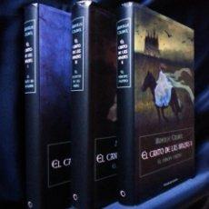 Libros de segunda mano: EL CANTO DE LAS BRUJAS I, II Y III | MIREILLE CALMEL | CÍRCULO DE LECTORES 2011. Lote 113173439