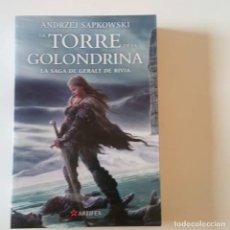 Libros de segunda mano: LA TORRE DE LA GOLONDRINA, LA SAGA DE GERALT DE RIVIA, ANDRZEJ SAPKOWSKI, ISBN: 9788498891096. Lote 113508895