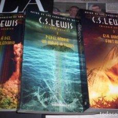 Libros de segunda mano: TRILOGIA COSMICA - C.S.LEWIS - COMPLETA TRES LIBROS - ED. MINOTAURO - 2006. Lote 174167960