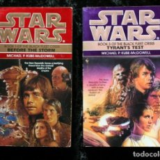 Libros de segunda mano: STAR WARS - THE BLACK FLEET CRISIS - TRILOGIA DE LA FLOTA NEGRA - 2 TOMOS - EN INGLES - . Lote 114470007