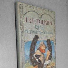 Libros de segunda mano: EGIDIO EL GRANJERO DE HAM / J. R. R. TOLKIEN / CÍRCULO DE LECTORES. Lote 114916175