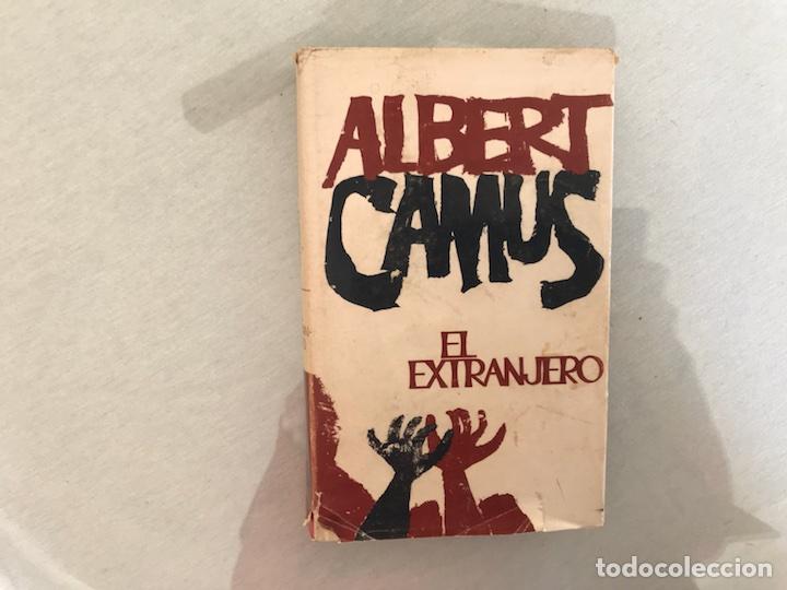 EL EXTRANJERO. ALBERT CAMUS. 1ª EDICIÓN. PLANETA (Libros de Segunda Mano (posteriores a 1936) - Literatura - Narrativa - Ciencia Ficción y Fantasía)