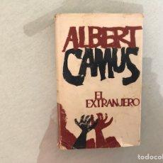 Libros de segunda mano: EL EXTRANJERO. ALBERT CAMUS. 1ª EDICIÓN. PLANETA. Lote 115207207