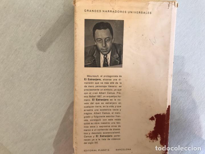 Libros de segunda mano: El extranjero. Albert Camus. 1ª edición. Planeta - Foto 3 - 115207207