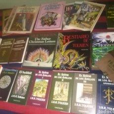 Libros de segunda mano: 21 LIBROS TOLKIEN DESCATALOGADOS OPORTUNIDAD. Lote 114457004