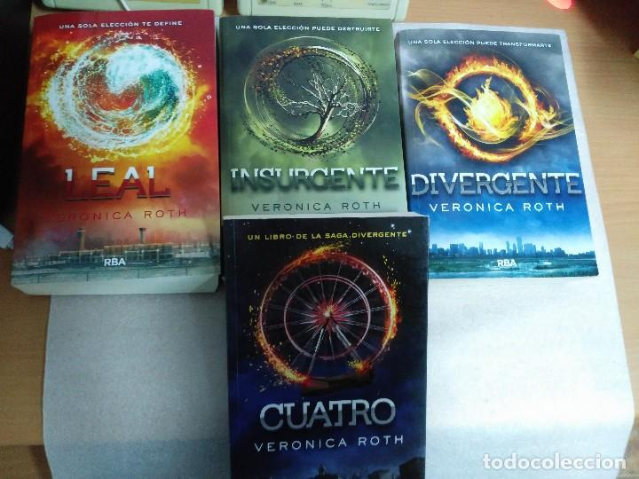 630add5b3b 2 fotos SAGA DIVERGENTE COMPLETA: DIVERGENTE/ INSURGENTE/ LEAL /CUATRO -  VERONICA ROTH (Libros ...