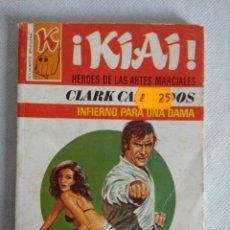 Libros de segunda mano: HEROES DE LAS ARTES MARCIALES/INFIERNO PARA UNA DAMA Nº52/NOVELA BRUGUERA.. Lote 115601823