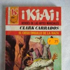 Libros de segunda mano: HEROES DE LAS ARTES MARCIALES/EL CIEGO ORGULLO DE LA RAZA Nº27/NOVELA BRUGUERA.. Lote 115601951
