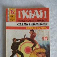 Libros de segunda mano: HEROES DE LAS ARTES MARCIALES/HOMBRES SIN ALMA Nº18/NOVELA BRUGUERA.. Lote 115602151