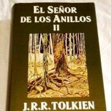 Libros de segunda mano: EL SEÑOR DE LOS ANILLOS II, LAS DOS TORRES; J.R.R. TOLKIEN - MINOTAURO 1990. Lote 115609943