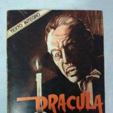Libros de segunda mano: LIBRO/DRACULA/BRAM STOKER/NOVARO.. Lote 115610143
