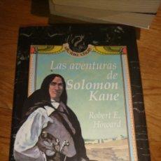 Libros de segunda mano: LAS AVENTURAS DE SOLOMON CANE ROBERT E. HOWARD. Lote 115623479