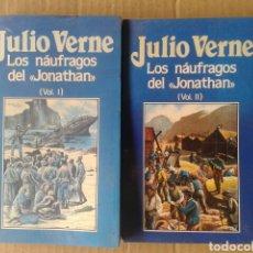 Libros de segunda mano: LOS NÁUFRAGOS DEL 'JONATHAN', VOLÚMENES 1 Y 2, DE JULIO VERNE. EDICIONES ORBIS NÚMEROS 63 Y 64.. Lote 116430987