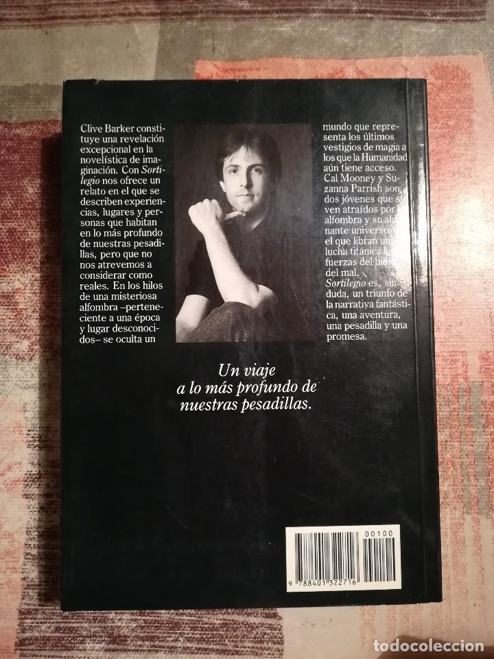Libros de segunda mano: Sortilegio - Clive Barker - Foto 2 - 116539987