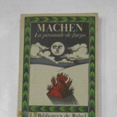 Libros de segunda mano: ARTHUR MACHEN. LA PIRAMIDE DE FUEGO. LA BIBLIOTECA DE BABEL. EDITORIAL SIRUELA. TDK333. Lote 131607861