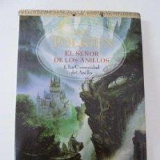 Libros de segunda mano: EL SEÑOR DE LOS ANILLOS. LA COMUNIDAD DEL ANILLO I. TOLKIEN. Lote 117230683