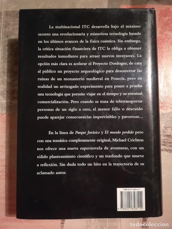 Libros de segunda mano: Rescate en el tiempo (1999-1357) - Michael Crichton - Foto 2 - 117312027