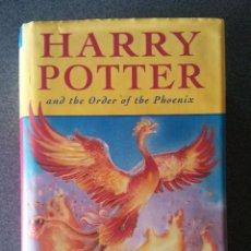 Libros de segunda mano: HARRY POTTER AND THE ORDER OF THE PHOENIX J. K. ROWLING. Lote 117484759