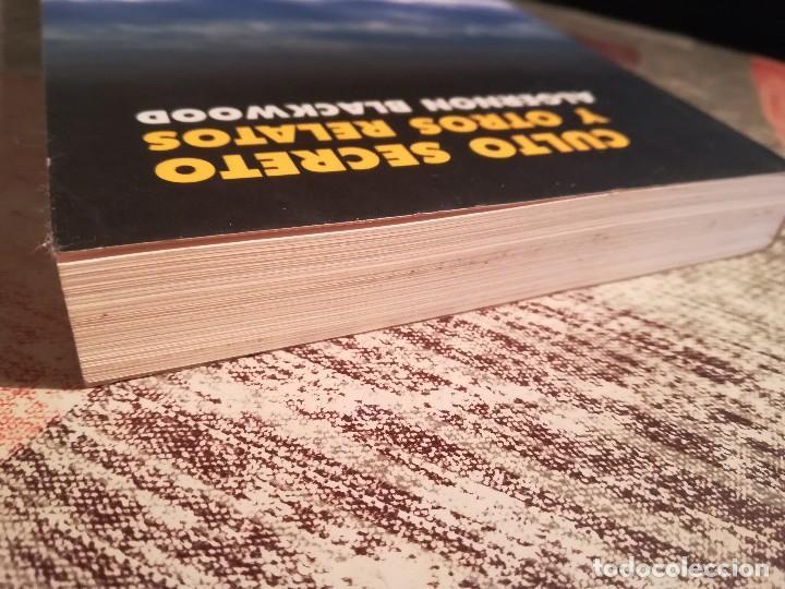 Libros de segunda mano: Culto secreto y otros relatos - Algernon Blackwood - Foto 4 - 117847215