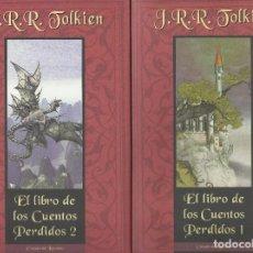 Libros de segunda mano: EL LIBRO DE LOS CUENTOS PERDIDOS -II TOMOS-, J.R.R. TOLKIEN. Lote 117874895