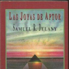 Libros de segunda mano: SAMUEL R. DELANY. LAS JOYAS DE APTOR. VALDEMAR CORVUS CIENCIA FICCION. Lote 117922847