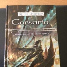 Libros de segunda mano: CORSARIO, RICHARD BAKER. REINOS OLVIDADOS (TIMUN MAS). Lote 118444647