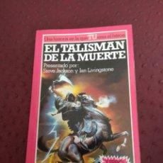 Libros de segunda mano: EL TALISMAN DE LA MUERTE. LUCHA FICCION 11. FICHA SIN ESCRIBIR. Lote 118898752