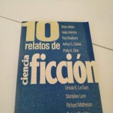 Libros de segunda mano: 10 RELATOS DE CIENCIA FICCIÓN - PLAZA Y JANES 1995. Lote 119015848
