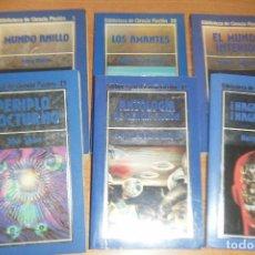 Libros de segunda mano: LOTE DE 6 NOVELAS BIBLIOTECA ORBIS LA CIENCIA FICCION, LIBROS 5 20 21 25 27 Y 43. Lote 119075667