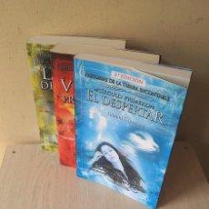 Libros de segunda mano: HAZAEL GONZALEZ - HISTORIAS DE LA TIERRA INCONTABLE, 3 LIBROS PRIMEROS - ALBERTO SANTOS EDICIONES. Lote 119684783