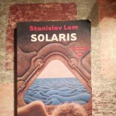 Libros de segunda mano: SOLARIS - STANISLAV LEM. Lote 119700919