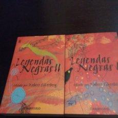 Libros de segunda mano - Leyendas negras I y II. Robert Silverberg - 119895432