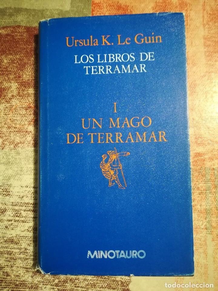 LOS LIBROS DE TERRAMAR I. UN MAGO DE TERRAMAR - URSULA K. LE GUIN (Libros de Segunda Mano (posteriores a 1936) - Literatura - Narrativa - Ciencia Ficción y Fantasía)