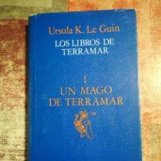 Libros de segunda mano: LOS LIBROS DE TERRAMAR I. UN MAGO DE TERRAMAR - URSULA K. LE GUIN. Lote 119990131