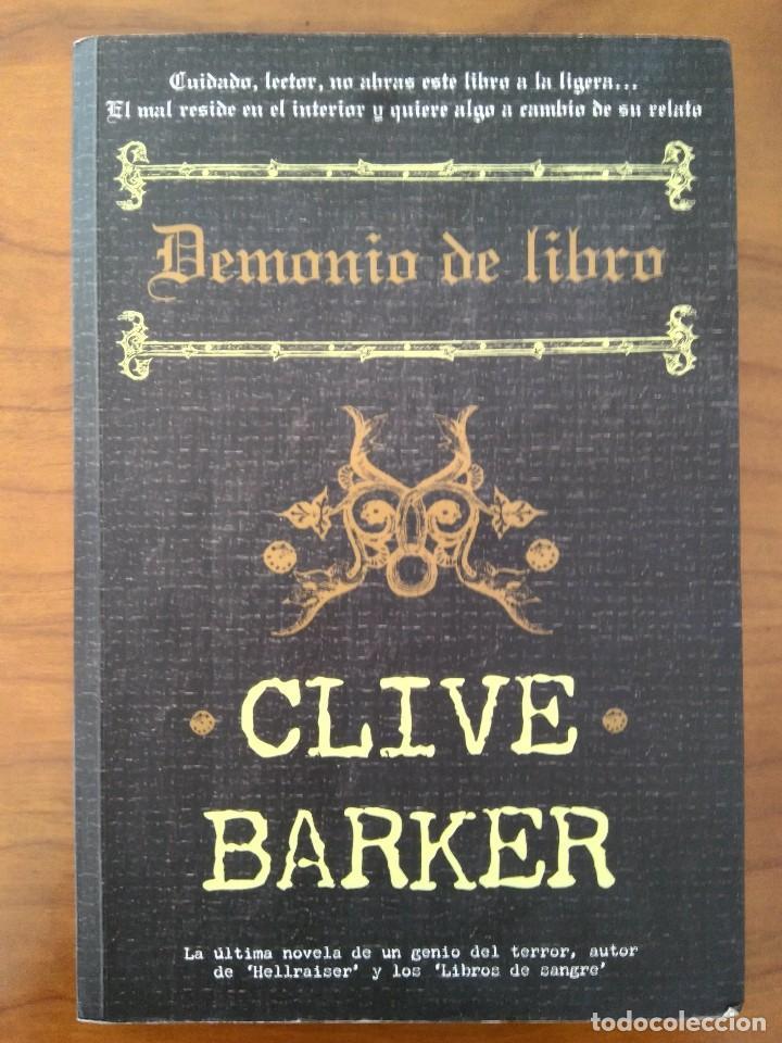 Demonio De Libro Barker C Comprar Libros De Ciencia Ficción Y Fantasía En Todocoleccion 120100599