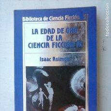 Libros de segunda mano: BIBLIOTECA DE CIENCIA FICCION ORBIS Nº 51 - ISAAC ASIMOV - LA EDAD DE ORO DE LA CIENCIA FICCIÓN IV. Lote 121178879