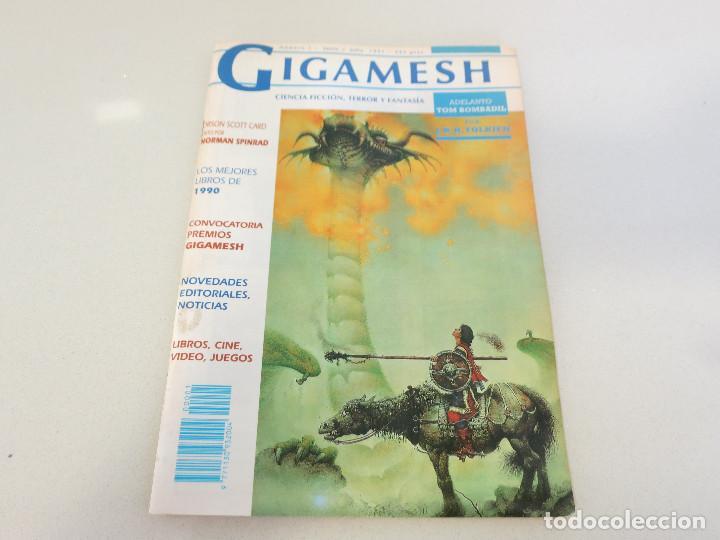 CIENCIA FICCION FANTASIA REVISTA GIGAMESH NUMERO 1 1990 (Libros de Segunda Mano (posteriores a 1936) - Literatura - Narrativa - Ciencia Ficción y Fantasía)