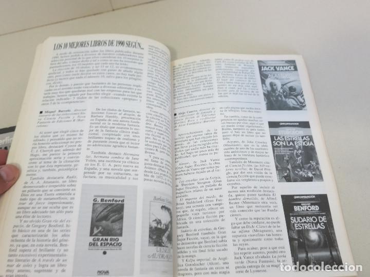 Libros de segunda mano: CIENCIA FICCION FANTASIA REVISTA GIGAMESH NUMERO 1 1990 - Foto 3 - 121427527