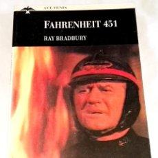 Libros de segunda mano: FAHRENHEIT 451; RAY BRADBURY / PLAZA & JANES 1993. Lote 121735983