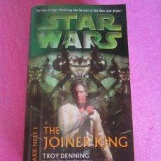 Libros de segunda mano: STAR WARS THE JOINER KING TROY DENNING . Lote 121745403