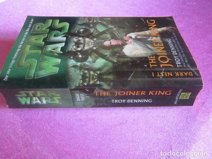 Libros de segunda mano: STAR WARS THE JOINER KING TROY DENNING - Foto 3 - 121745403