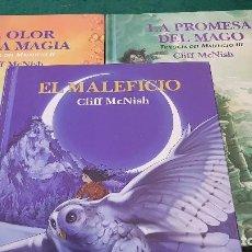 Libros de segunda mano: TRILOGÍA DEL MALEFICIO - 3 TOMOS - CLIFF MCNISH. Lote 122467319
